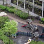 Life-Bridge Child Care Playground elevated view